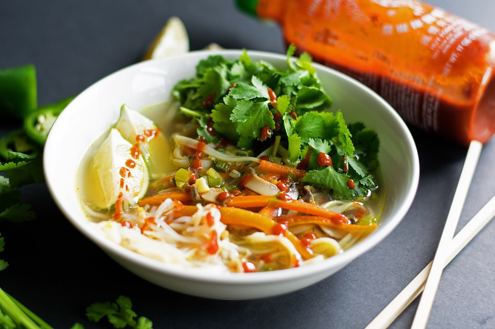Vegetarian Pho - The Kitchen Wife