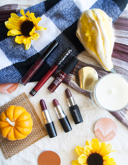 Fall lipstick favorites: The Reds