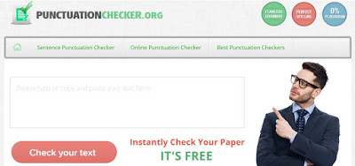 proofreading tool punctuation checker