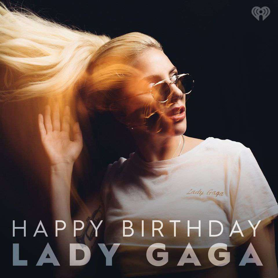Lady Gaga's Birthday Wishes Beautiful Image