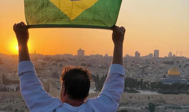 """Brasil é representado em reunião de oração em Jerusalém: """"Estamos ligados a Israel"""""""