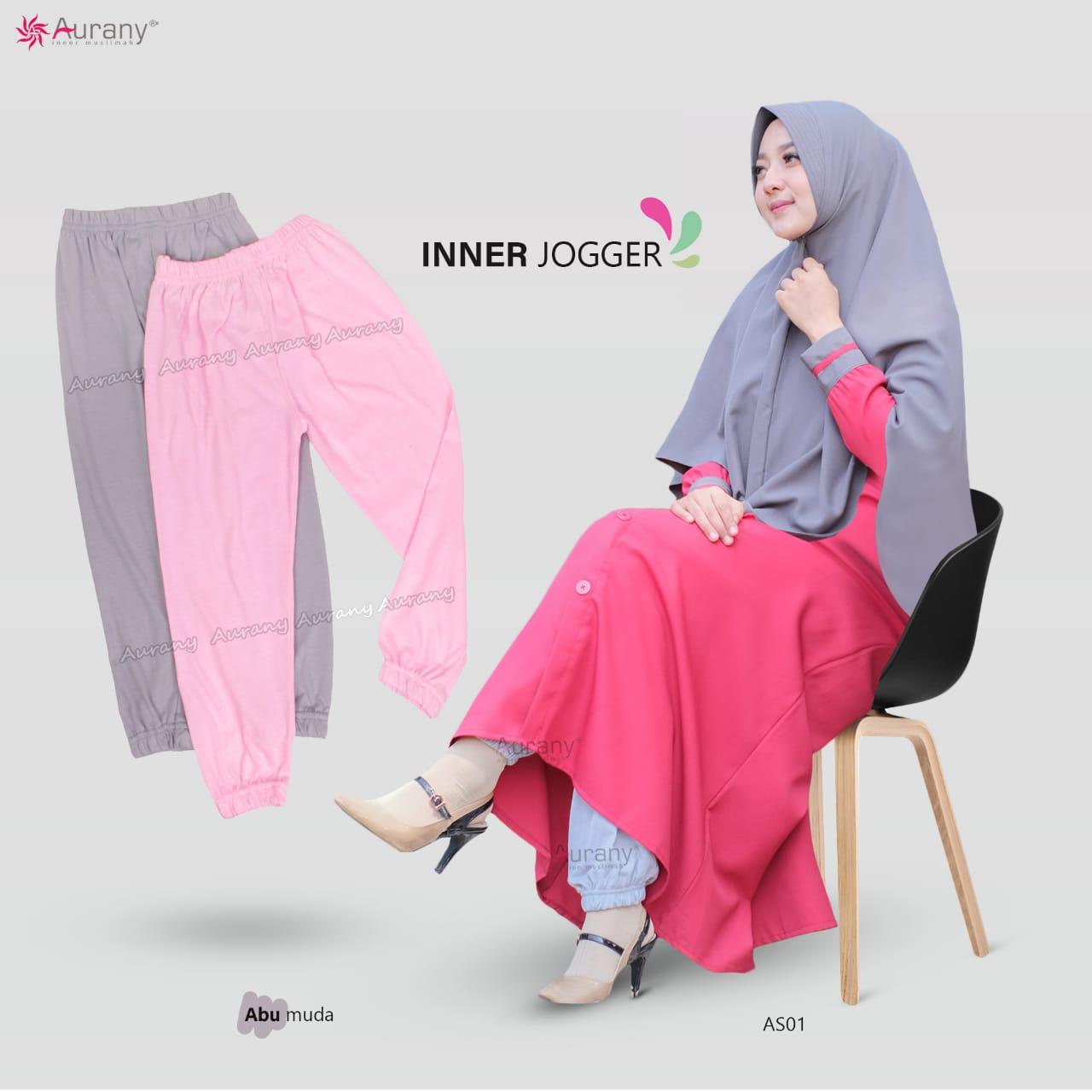 Busana Muslimah Inner Jogger Kid's by Aurany