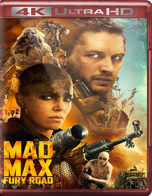 Mad Max: Fury Road [2015] [UHD] [2160p] [Latino]