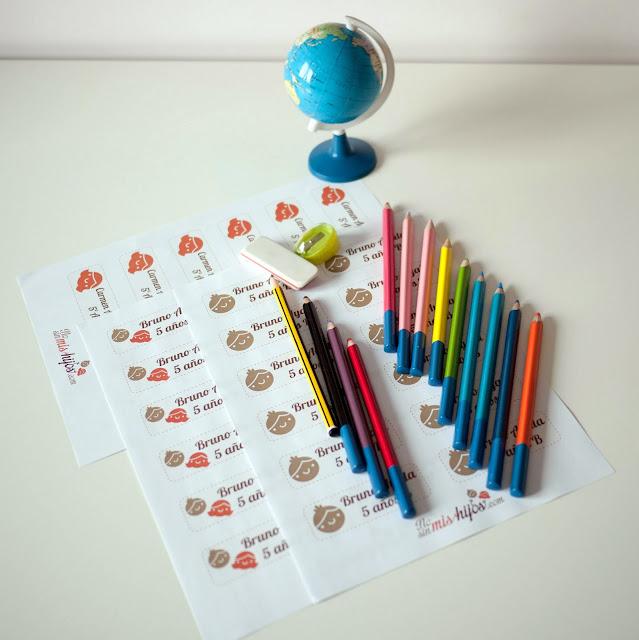 Etiquetas imprimibles gratuitas de No sin mis hijos