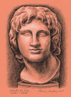 Alexander the Great. Ancient Macedonia. The British Museum. by Travis Simpkins
