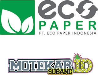 Info Loker PT. ECO PAPER Indonesia (Subang) Januari 2019