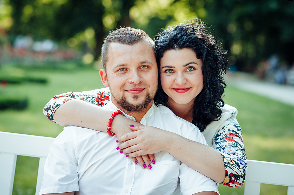 sesja narzeczeńska, Lublin, Ogród Saski