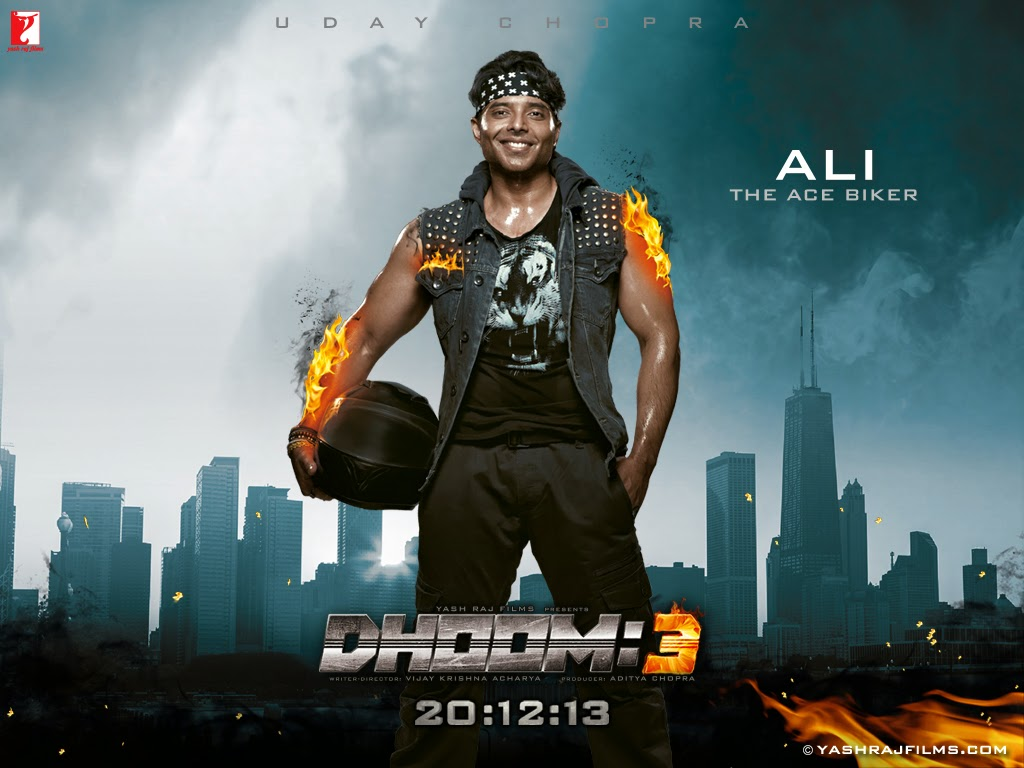 Download Dhoom 3 Movie HD Wallpapers For Your Desktop | Beautiful Bollywood and Hollywood Wallpapers