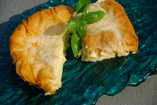 Greek tiropita by Tanya Bakogiannis