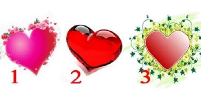 Выберите сердце и узнайте, что вас ожидает в ближайшие три дня