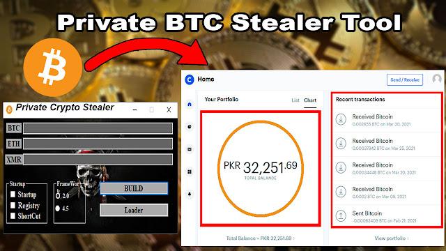 Private Crypto Stealer