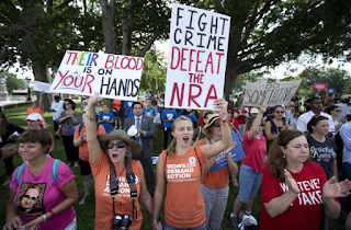 After Mass Shootings, Action On Gun Legislation Soars At State Level