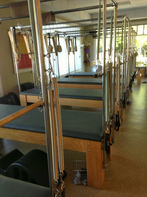 pilates machines