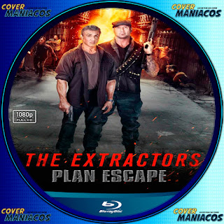 GALLETA - ESCAPE PLAN 3 - THE EXTRACTORS - 2019 [COVER BLU-RAY]