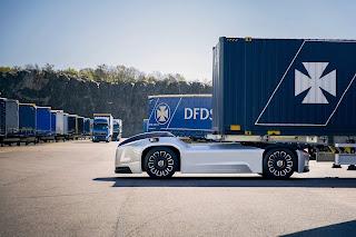 Vera, Autonomous Truck Untuk Trailer Head Buatan Volvo