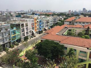 view chung cư b1 bông sao phường 5 quận 8