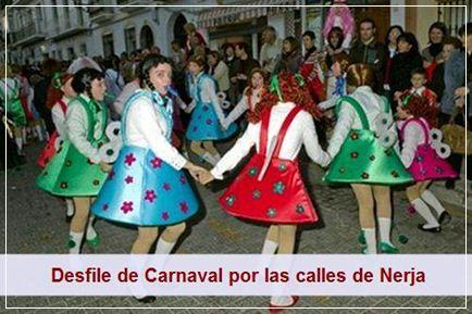 El sábado se celebra el gran desfile del carnaval de Nerja