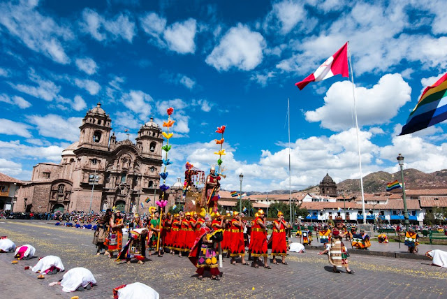 Junho na História - Inti Raymi em Cusco