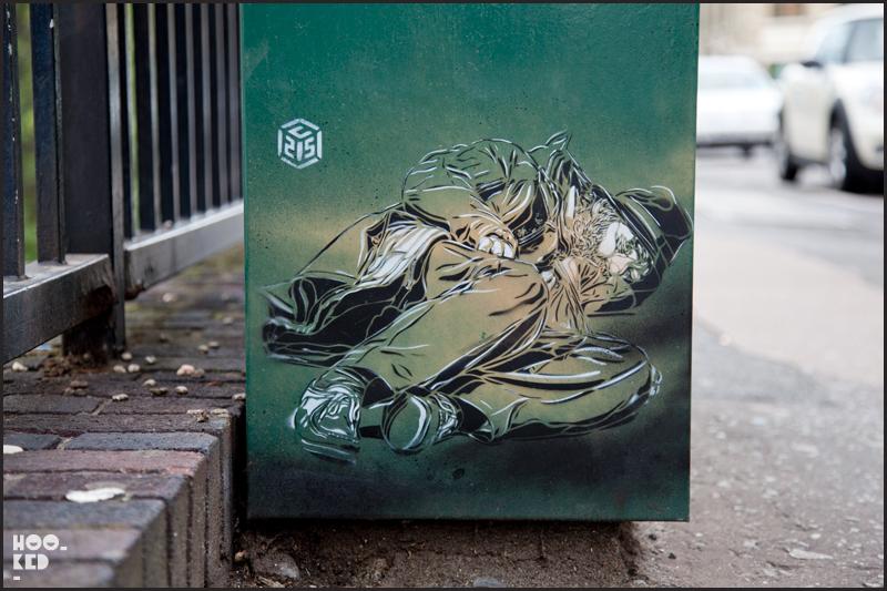 Hookedblog's 2011 Top 50 collection of Street Art photographs