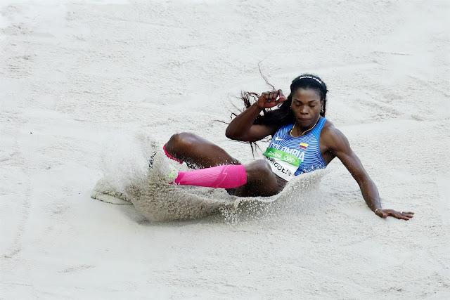 Caterine Ibarguen Oro en Salto triple femenino Final | Rio 2016