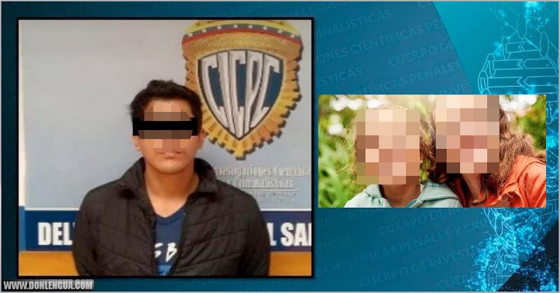 Comerciante detenido por abusar al mismo tiempo a sus dos sobrinas pequeñas en Táchira