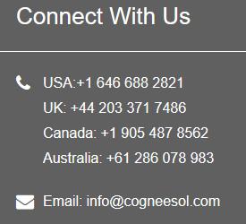 contact Cogneesol Inc.