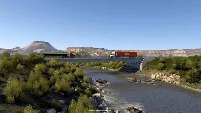 Wyoming será o próximo estado do American Truck Simulator