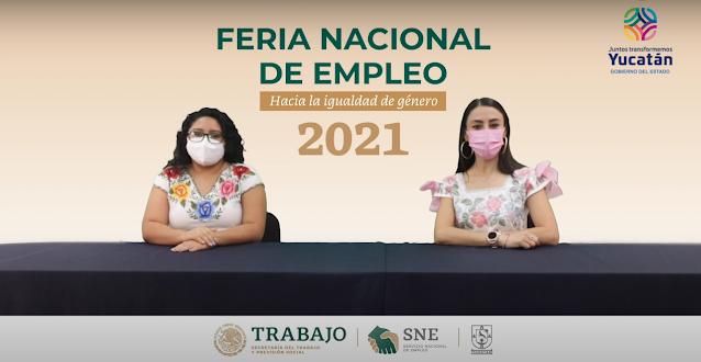 """SNEY realiza Feria Nacional de Empleo 2021 """"Hacia la igualdad de género"""""""