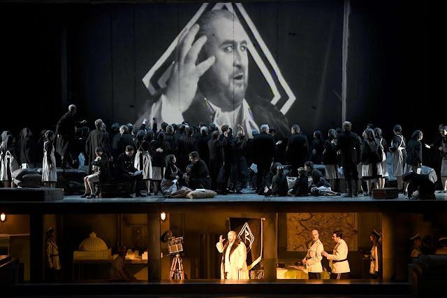 Wagner's Rienzi at the Deutsche Oper, Berlin in 2019 (Photo Bettina Stöß)
