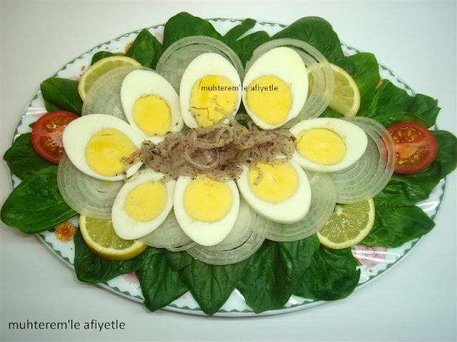 çiğ ıspanak salatası