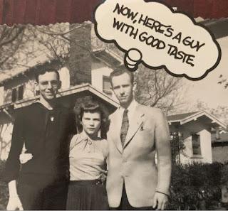 Albert Burdick, Dorothy Cline Burdick, Leroy Burdick