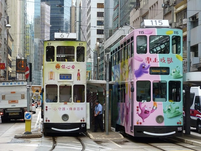 The Beauty of Hong Kong Trams