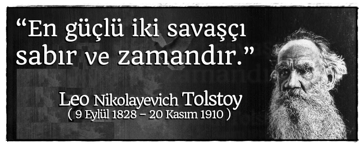 Savaş ve Barış - Tolstoy