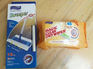 magic clean dry wiper