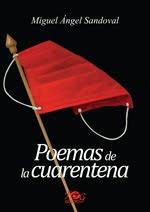 Portada de Poemas de la cuarentena de Miguel Angel Sandoval