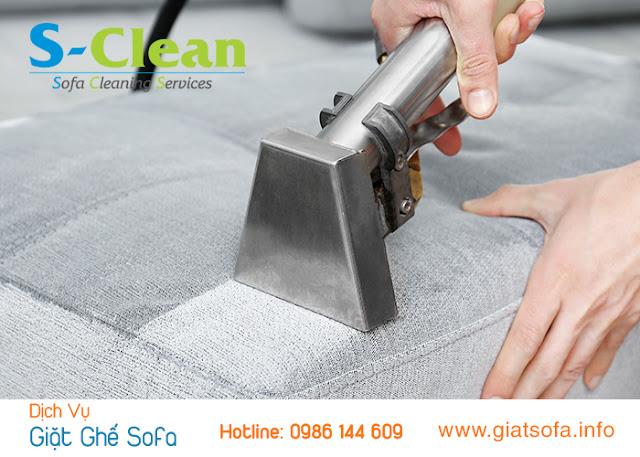 Dịch vụ giặt ghế sofa tại nhà quận 7 sạch chuyên nghiệp