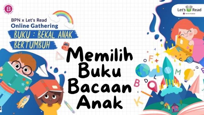 Buku Bekal Anak Bertumbuh Bersama Let's Read Indonesia