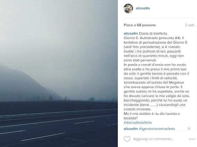 #diarioditrasferta su Megabus