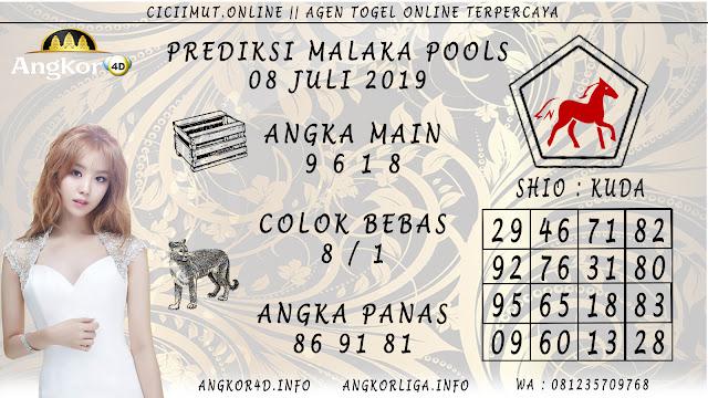 PREDIKSI MALAKA POOLS 08 JULI 2019
