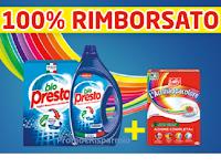 100% rimborsati con Bio Presto e L' Acchiappacolore : buoni spesa da 10€ e 20€ come premio certo