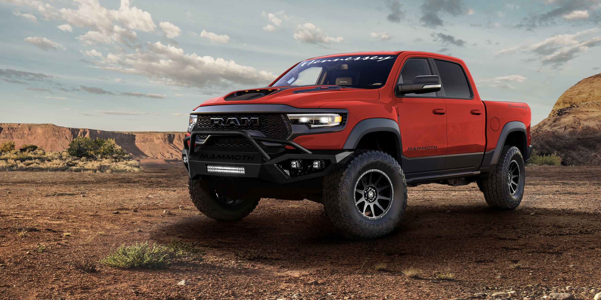 Introducing The 2021 HENNESSEY MAMMOTH 1000 Supercharged RAM TRX Pick-Up Truck