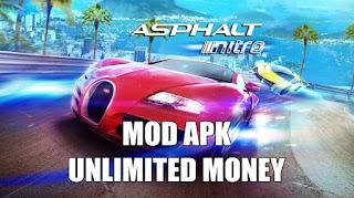 Download Asphalt Nitro v1.7.3g MOD APK VIP Unlimited Money & Token
