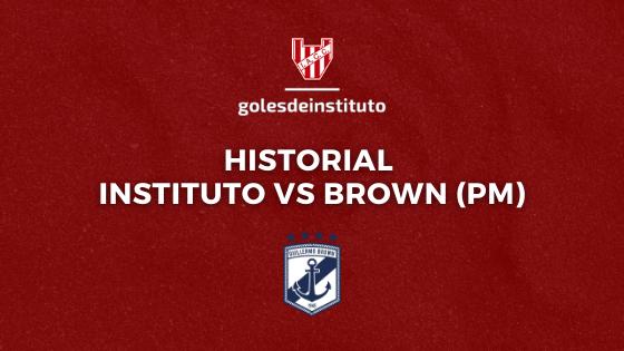 HISTORIAL: Instituto vs Guillermo Brown de Puerto Madryn
