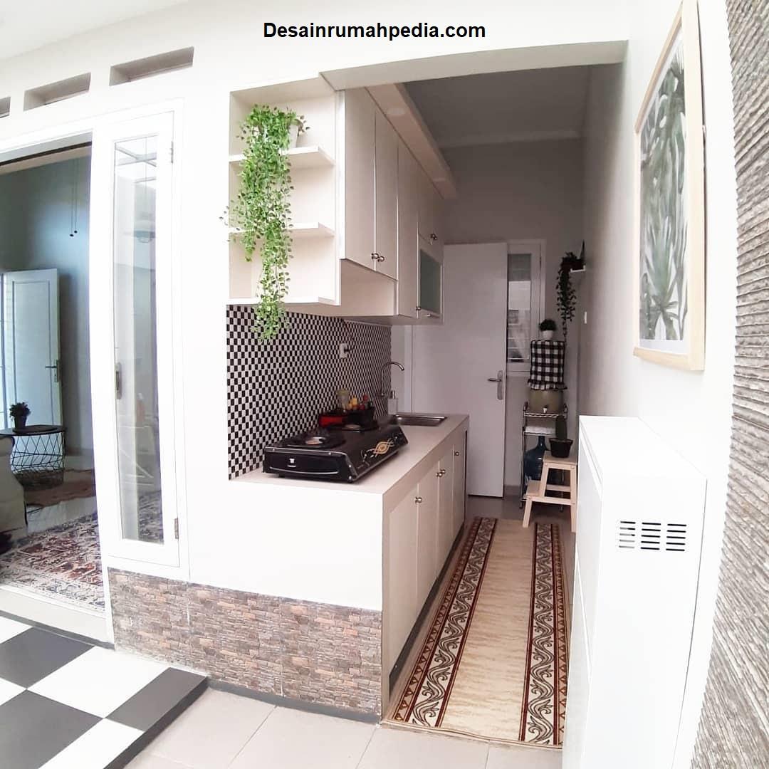 Desain Rumah Minimalis Dominasi Warna Cream Dan Putih Yang Terkesan Kalem Dan Menenangkan Desainrumahpedia Com Inspirasi Desain Rumah Minimalis Modern