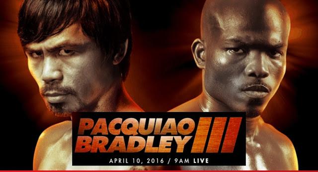 Live Stream Pacquiao vs. Bradley 3 Fight Free Online