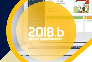 Download Dapodik Versi 2018b Beserta Panduan Pengerjaan