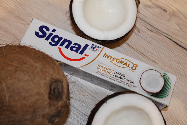 Dentifrice Integral 8 Coco Blancheur - Signal
