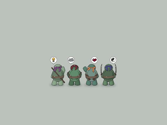 cute ninja turtle wallpaper