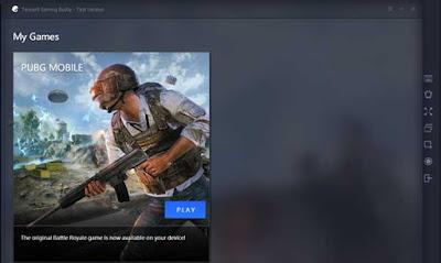 Emulator terbaik untuk bermain pubg mobile di PC