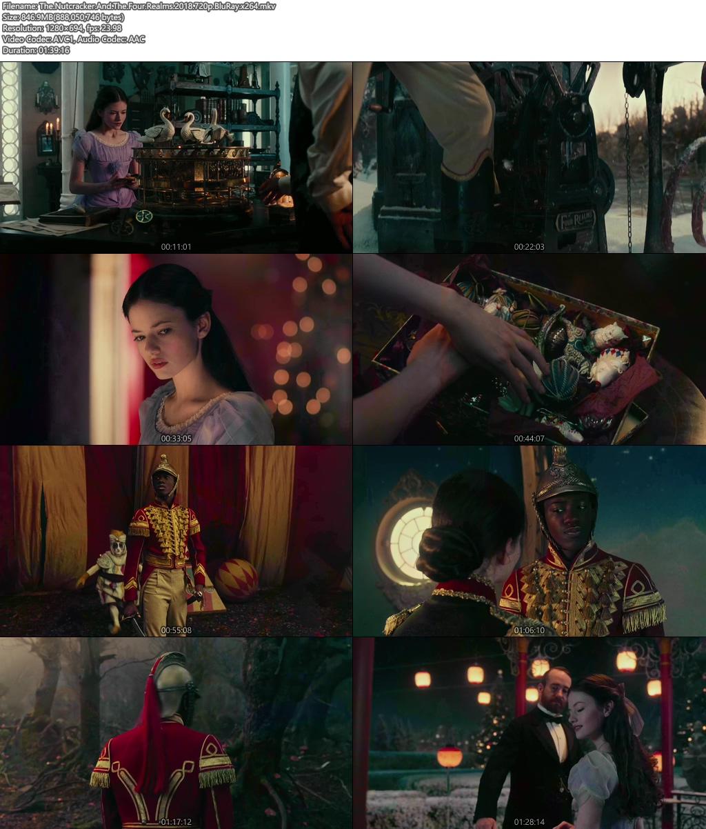 The Nutcracker And The Four Realms 2018 720p BluRay x264   480p 300MB   100MB HEVC Screenshot